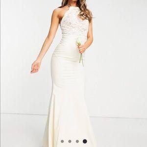 Beautiful ASOS lace white dress